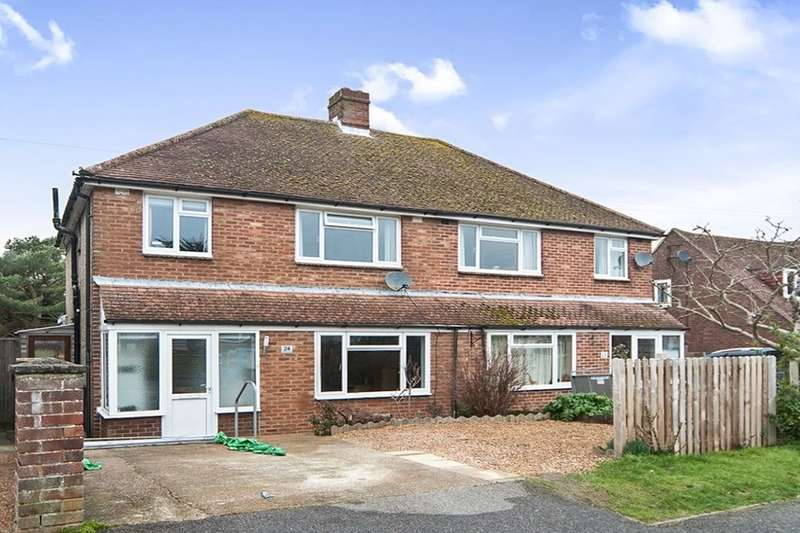3 Bedrooms Semi Detached House for sale in Windmill Road, POLEGATE, BN26
