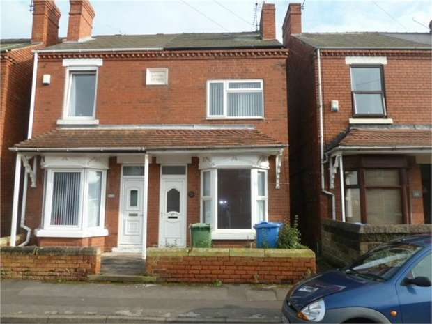 3 Bedrooms Semi Detached House for sale in Lincoln Street, Worksop, Nottinghamshire