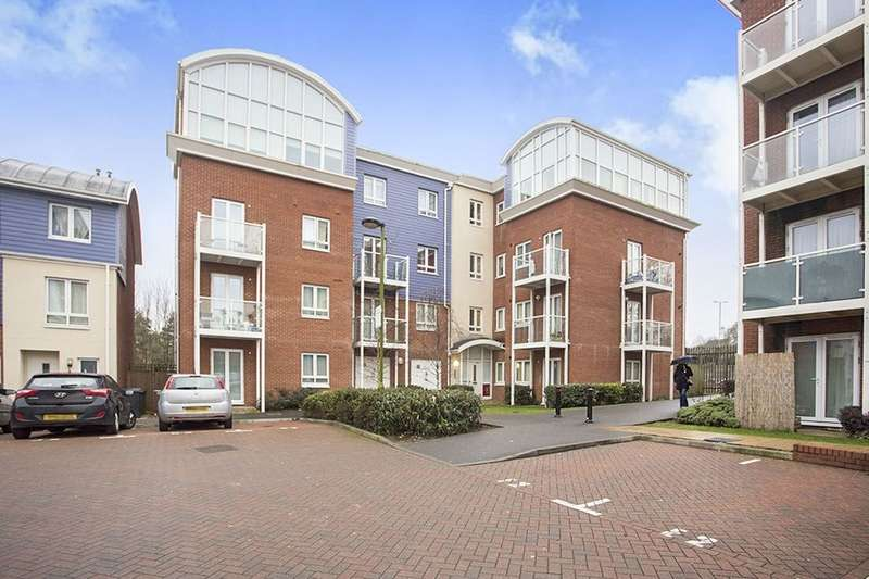 2 Bedrooms Flat for sale in Pumphouse Crescent, Watford, WD17