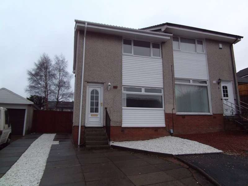 2 Bedrooms Semi Detached House for sale in 8 St. Leonards Walk, Carnbroe, Coatbridge, ML5 4TX