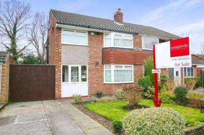 3 Bedrooms Semi Detached House for sale in Fernlea, Heald Green, Cheadle, Greater Manchester