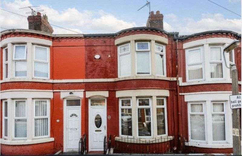 3 Bedrooms Terraced House for sale in Westdale Road, Wavertree, Liverpool, L15