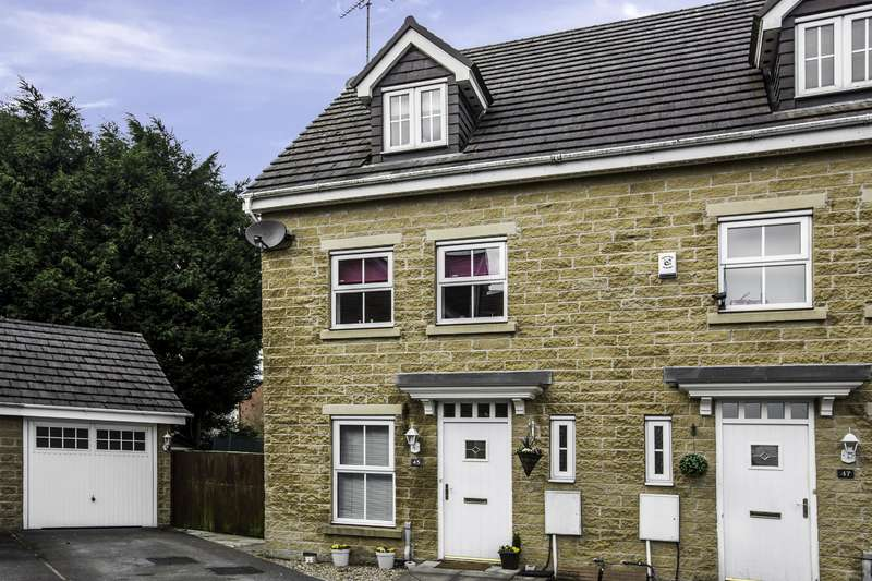 3 Bedrooms Mews House for sale in Wasp Mill Drive, Wardle, OL12 9BB