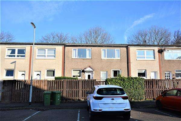 2 Bedrooms Terraced House for sale in Maxwell Gardens, G41