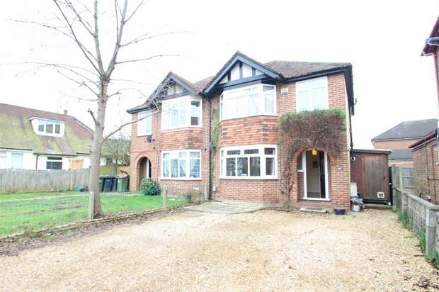 3 Bedrooms Semi Detached House for sale in Worplesdon Road, GUILDFORD, Surrey