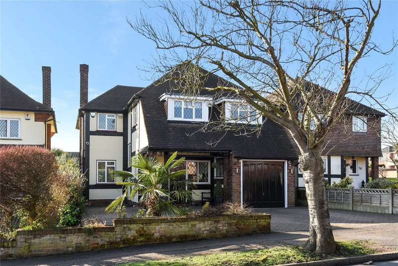 5 Bedrooms Detached House for sale in Millwell Crescent, Chigwell, Essex, IG7