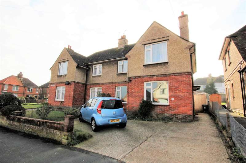 4 Bedrooms Semi Detached House for sale in Cavalry Crescent, Eastbourne, BN20 8PE