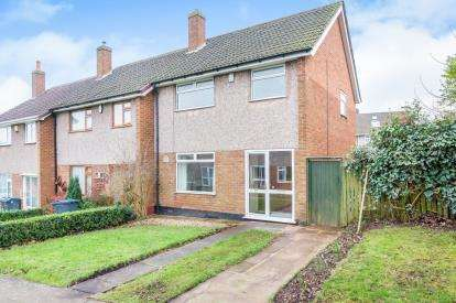 3 Bedrooms End Of Terrace House for sale in Peach Ley Road, Selly Oak, Birmingham, West Midlands
