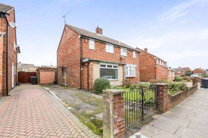 2 Bedrooms Semi Detached House for sale in Mossbank Avenue, Luton, Bedfordshire, United Kingdom