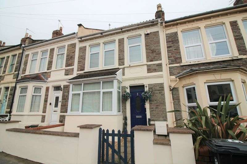 3 Bedrooms Terraced House for sale in Sandown Road, Brislington, Bristol