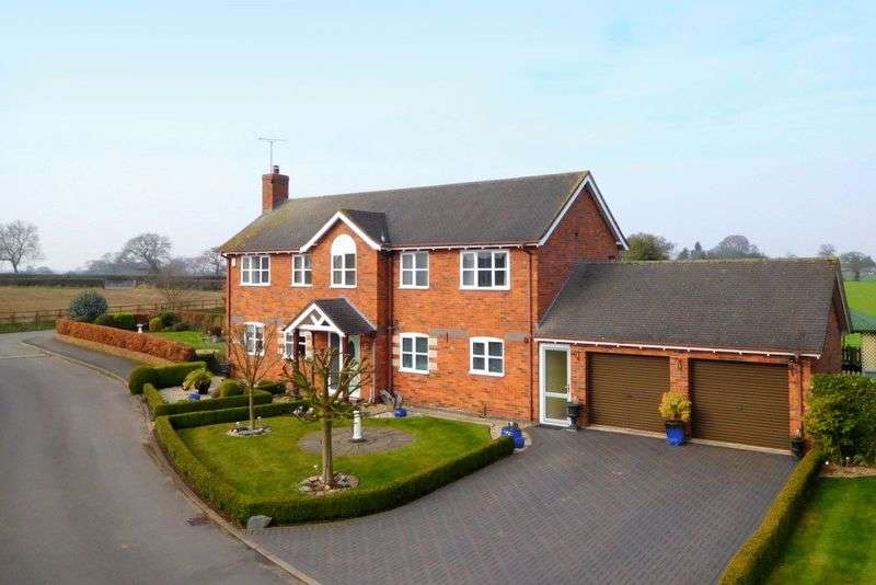4 Bedrooms Detached House for sale in Greenhaven Court, Hatherton, Nantwich