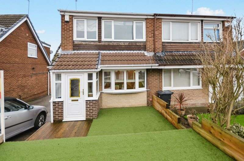 3 Bedrooms Semi Detached House for sale in 42 Wharfedale Drive, Chapeltown, Sheffield, S35 2QL