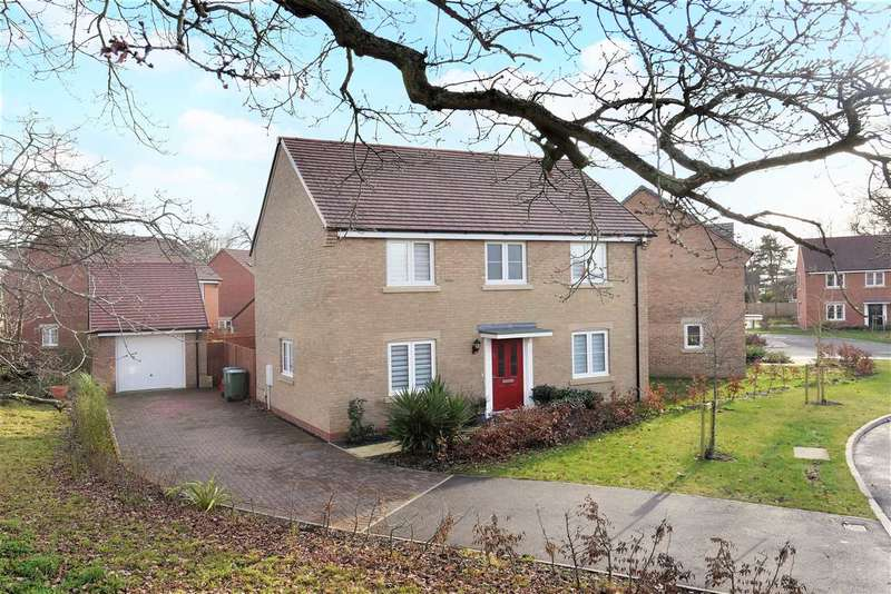 3 Bedrooms Detached House for sale in ROTHSCHILD DRIVE, SARISBURY GREEN