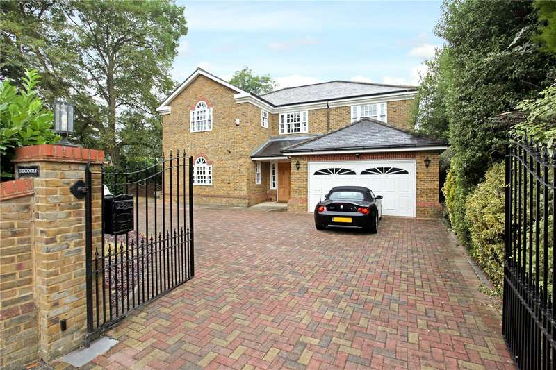 5 Bedrooms Detached House for sale in Ellesmere Road, Weybridge, Surrey, KT13