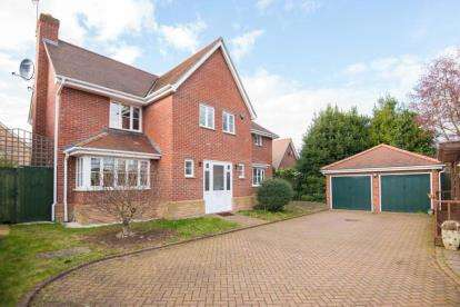4 Bedrooms Detached House for sale in Dominic Court, Waltham Abbey, Essex