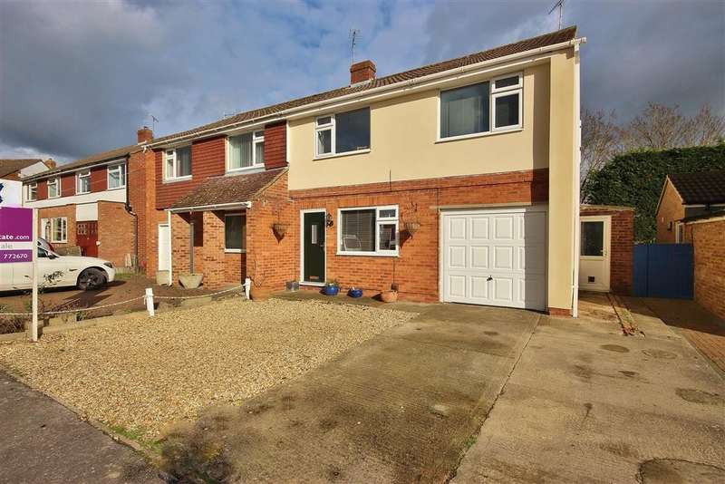 4 Bedrooms Semi Detached House for sale in Westfield Way, Charlton, Wantage, OX12