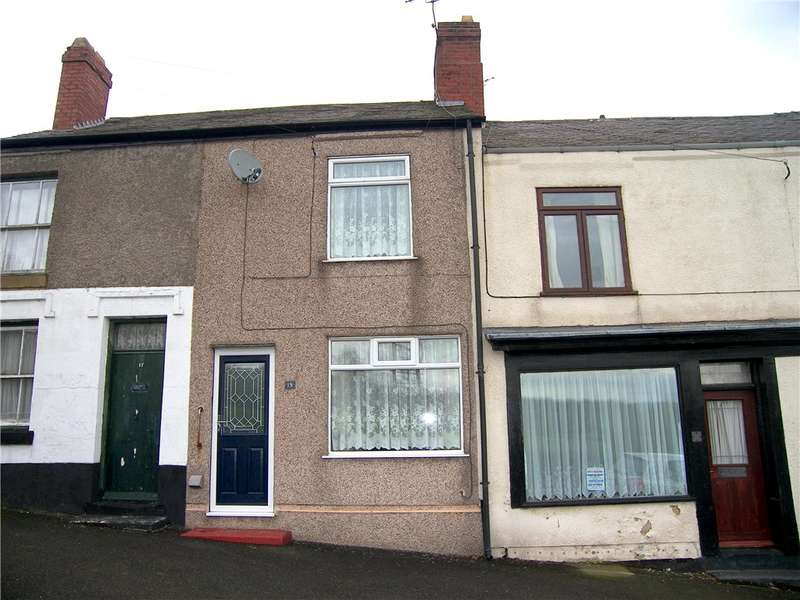 2 Bedrooms Terraced House for sale in Church Lane, South Wingfield, Alfreton, Derbyshire, DE55