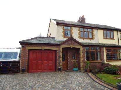 3 Bedrooms Semi Detached House for sale in Higher Walton Road, Walton-Le-Dale, Preston, Lancashire