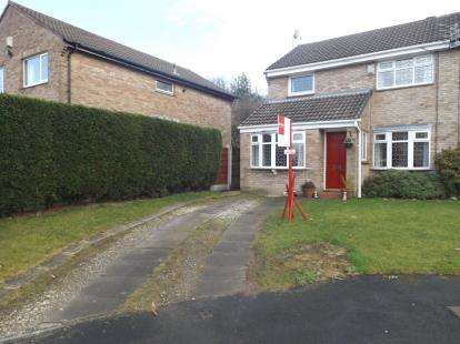 3 Bedrooms Semi Detached House for sale in Thurlestone Drive, Hazel Grove, Stockport, Greater Manchester