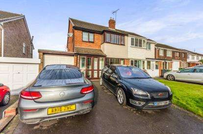 3 Bedrooms Semi Detached House for sale in Magness Crescent, Willenhall, West Midlands