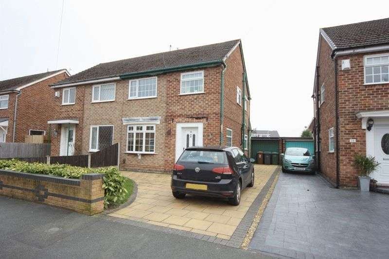 3 Bedrooms Semi Detached House for sale in Banbury Way, Prenton
