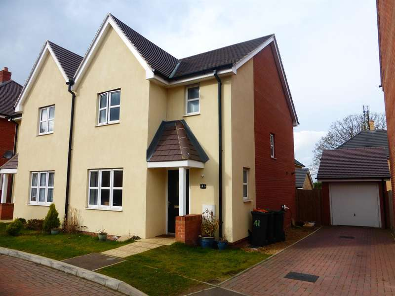 3 Bedrooms Semi Detached House for sale in Chamberlain Way, Shortstown, Bedford, MK42
