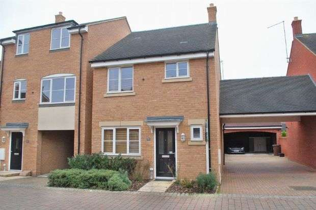 3 Bedrooms Detached House for sale in Galileo Close, Duston, Northampton NN5 6GR