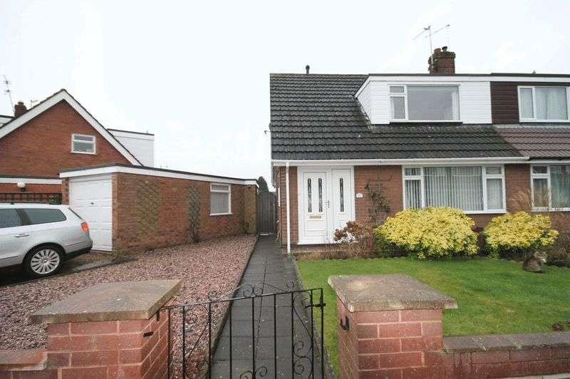 3 Bedrooms Semi Detached House for sale in Elm Drive, Market Drayton