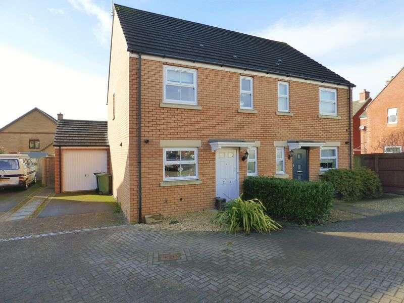 3 Bedrooms Semi Detached House for sale in Bodenham Field, Gloucester