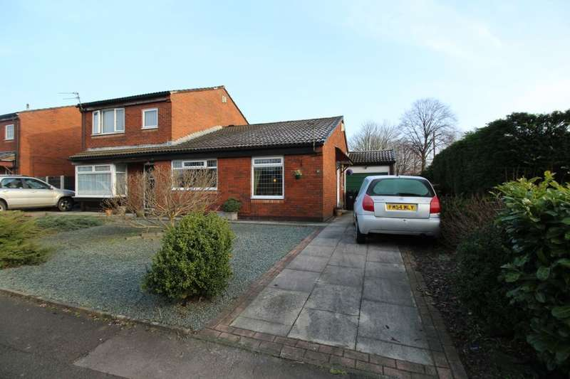 2 Bedrooms Semi Detached Bungalow for sale in Ribchester Drive, Bury, BL9