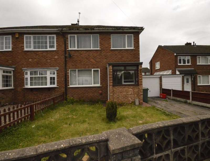 3 Bedrooms Semi Detached House for sale in Church Road, Trench, Telford, TF2
