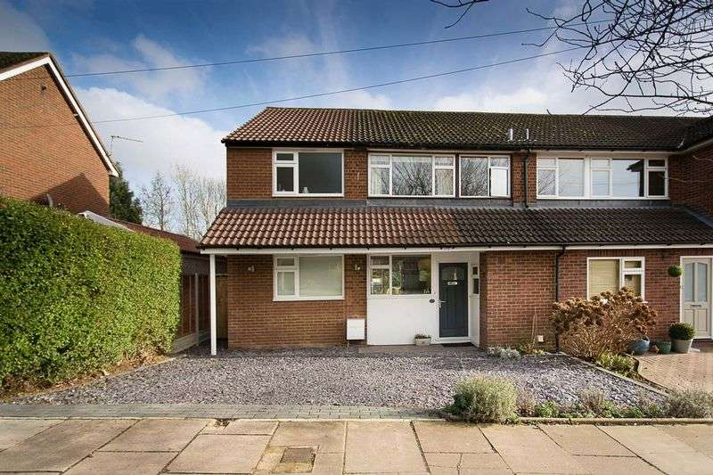 4 Bedrooms Semi Detached House for sale in Therfield Road, St Albans