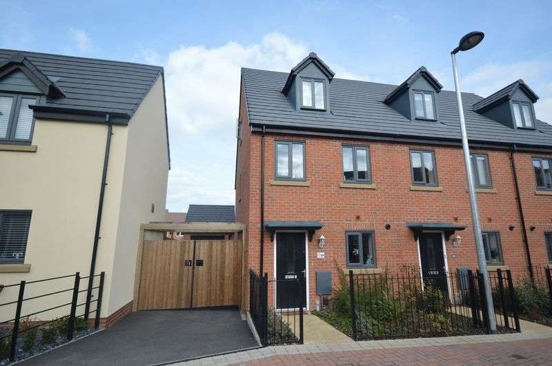 3 Bedrooms Terraced House for sale in Smithy Way, Lawley, Telford