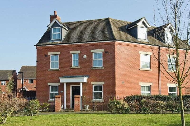 5 Bedrooms Semi Detached House for sale in Agincourt Road, Lichfield