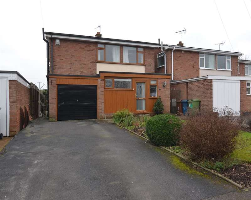 3 Bedrooms Detached House for sale in Twemlow Close, Derrington, Stafford