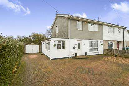 4 Bedrooms Semi Detached House for sale in Thrasher Road, Aylesbury, Buckinghamshire, .