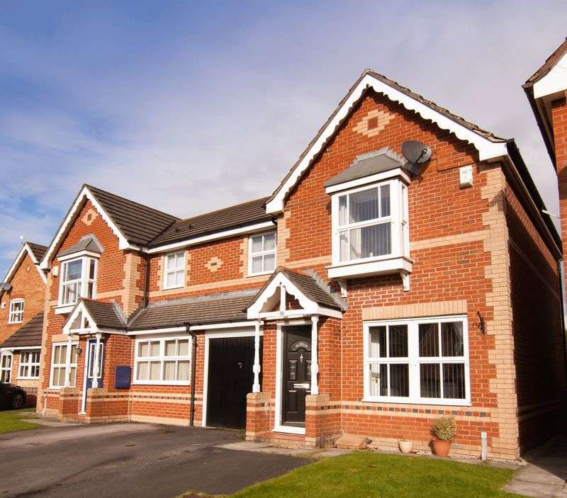 3 Bedrooms Semi Detached House for sale in 58 Mile Stone Meadow, Euxton, PR7 6FD