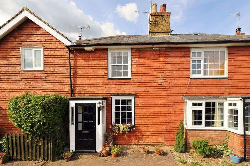 2 Bedrooms Terraced House for sale in Rushetts, Crockham Hill