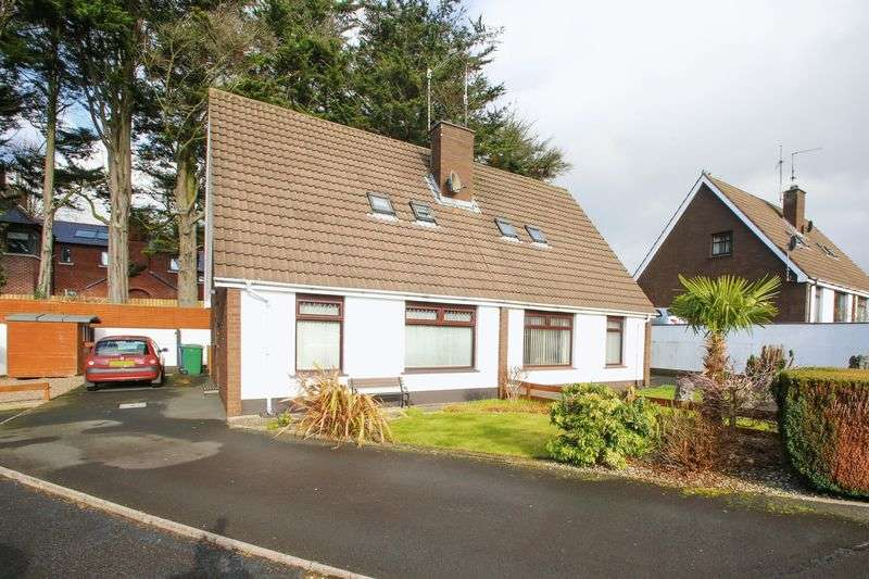 3 Bedrooms Semi Detached Bungalow for sale in 7 Seagoe Gardens, Portadown