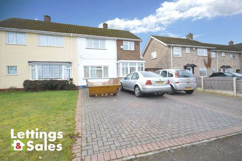 3 Bedrooms Semi Detached House for sale in White Farm Road, Four Oaks