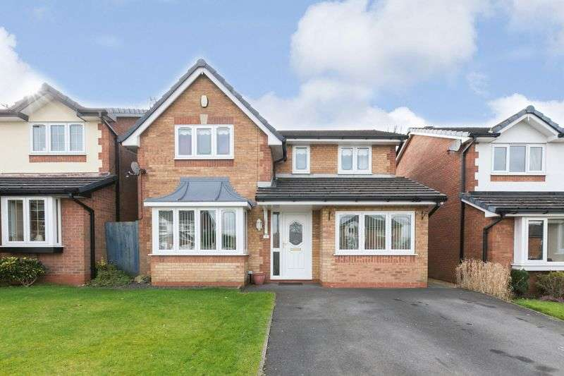 4 Bedrooms Detached House for sale in Witham Close, Standish, WN6 0RD