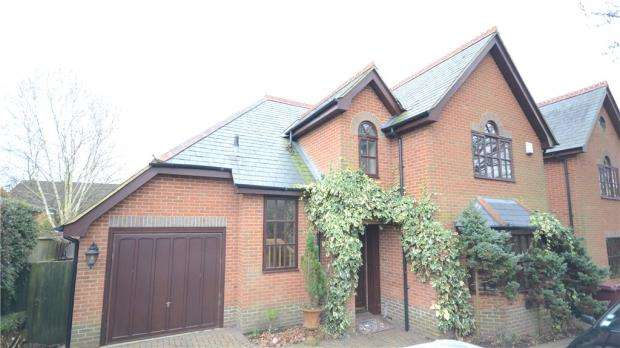4 Bedrooms Detached House for sale in Kidmore Court, Hunters Chase, Caversham Heights