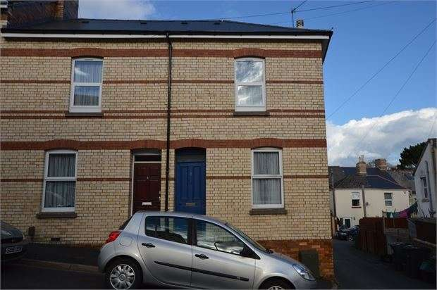 3 Bedrooms End Of Terrace House for sale in Alexandra Road, Newton Abbot, Devon. TQ12 1AD