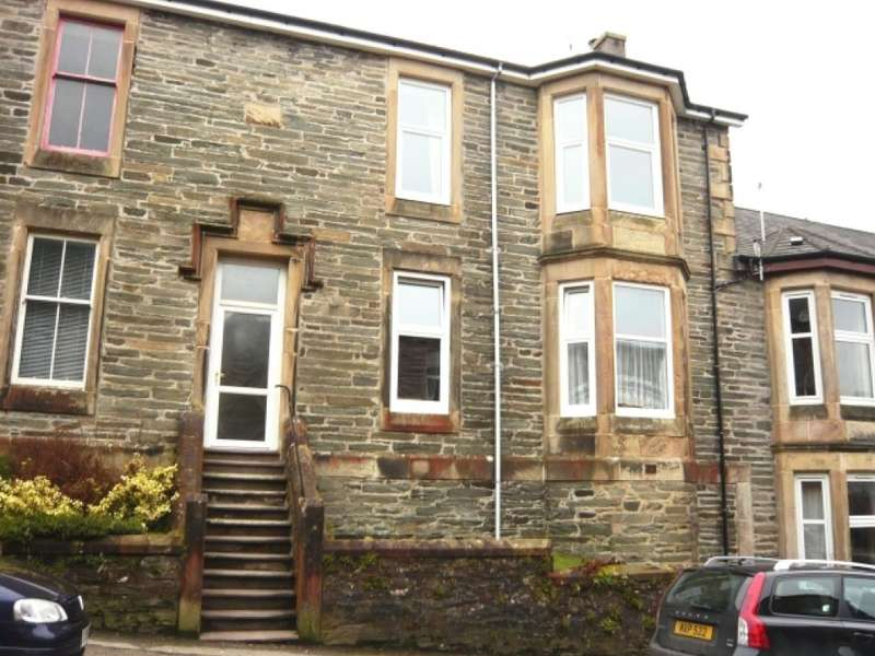 2 Bedrooms Flat for sale in Rockhill Terrace, 13 Hill Street,, Dunoon, PA23 7AL