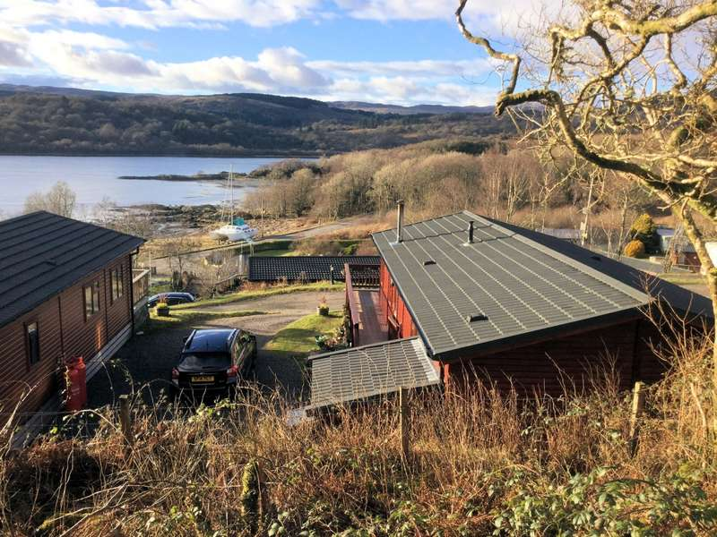 3 Bedrooms Log Cabin Character Property for sale in Achachoish West Loch Shores, Tarbert, PA29 6YF