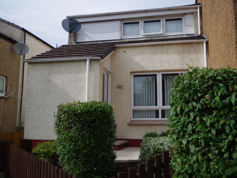2 Bedrooms End Of Terrace House for sale in 28 Bodesbeck Court, Irvine, KA11 1LG