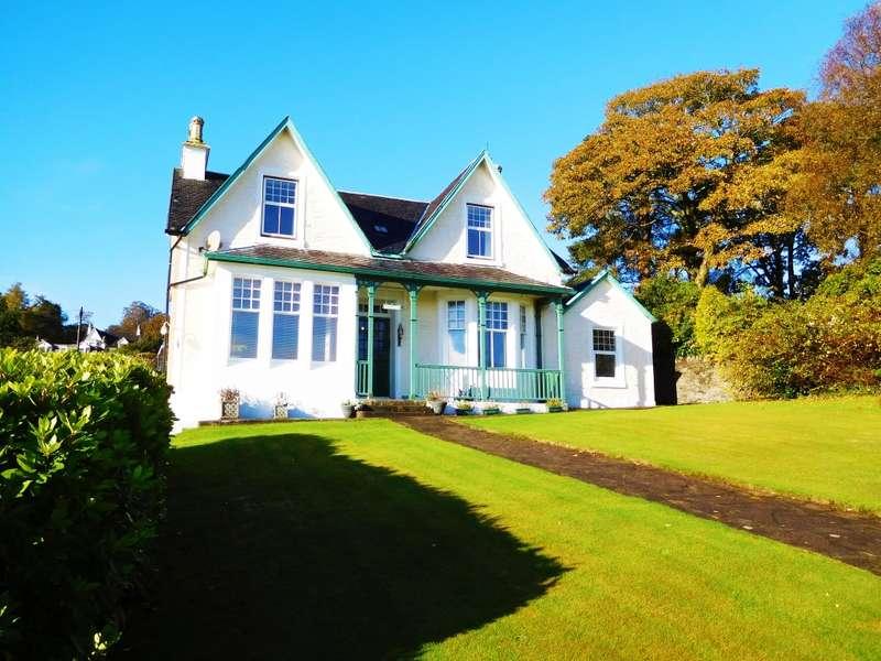 4 Bedrooms Detached Villa House for sale in Hazelwood, 11 Eccles Road, Hunter's Quay, PA23 8LA