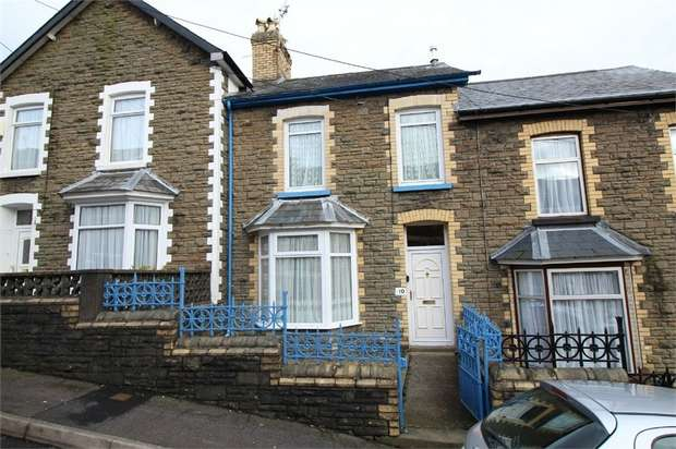 2 Bedrooms Terraced House for sale in Mountain View, Pontnewynydd, Pontypool