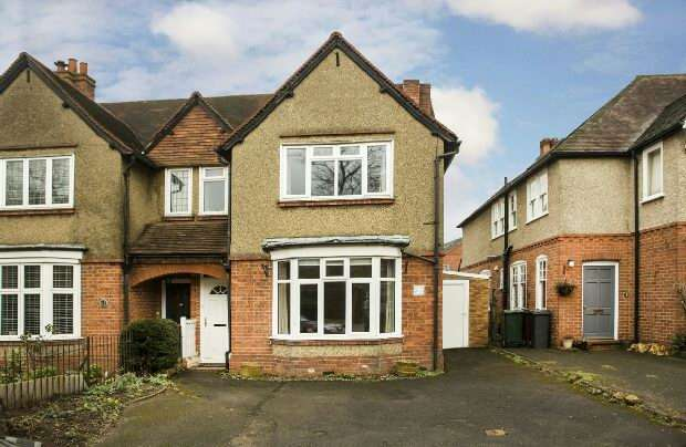 4 Bedrooms Semi Detached House for sale in Whiteknights Road, Reading