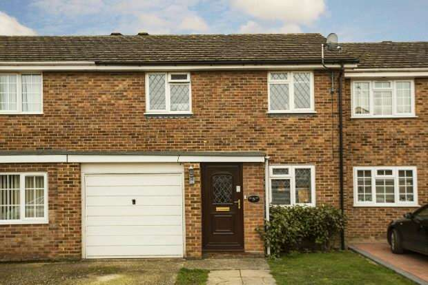 3 Bedrooms Terraced House for sale in Stowmarket Close, Lower Earley, Reading,
